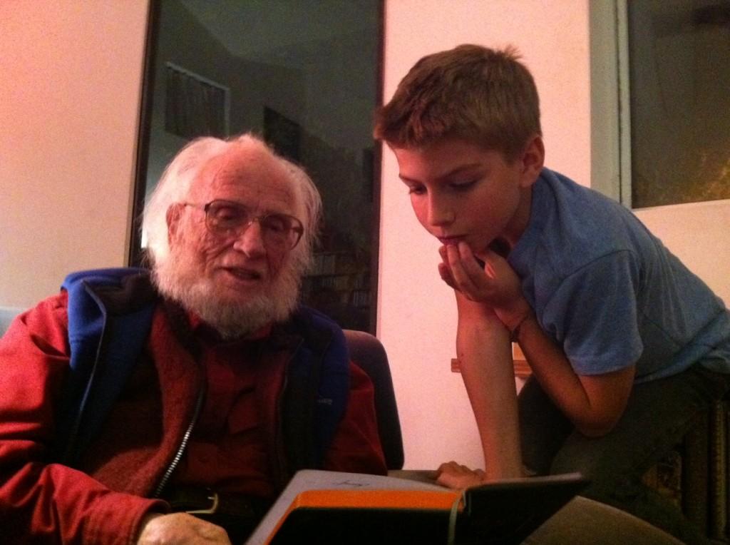 Alexander Eliot and Jasper Eliot